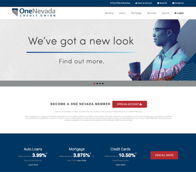 Screen Shot 2019 03 07 At 12 13 18 Pm One Nevada Credit Union